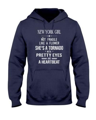New York girl tornado