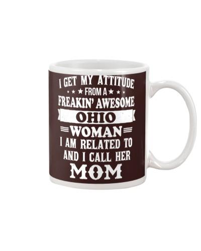 get my attitude from Ohio mom