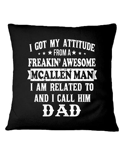 got my attitude from McAllen man