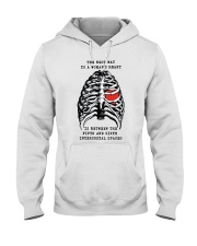 The best way to a womans heart is between shirt Hooded Sweatshirt thumbnail