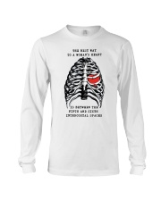 The best way to a womans heart is between shirt Long Sleeve Tee thumbnail