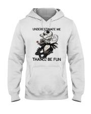Jack Skellington underestimate me thatll shirt Hooded Sweatshirt thumbnail