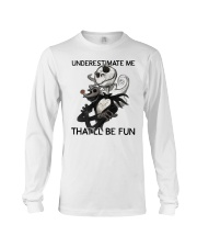 Jack Skellington underestimate me thatll shirt Long Sleeve Tee thumbnail