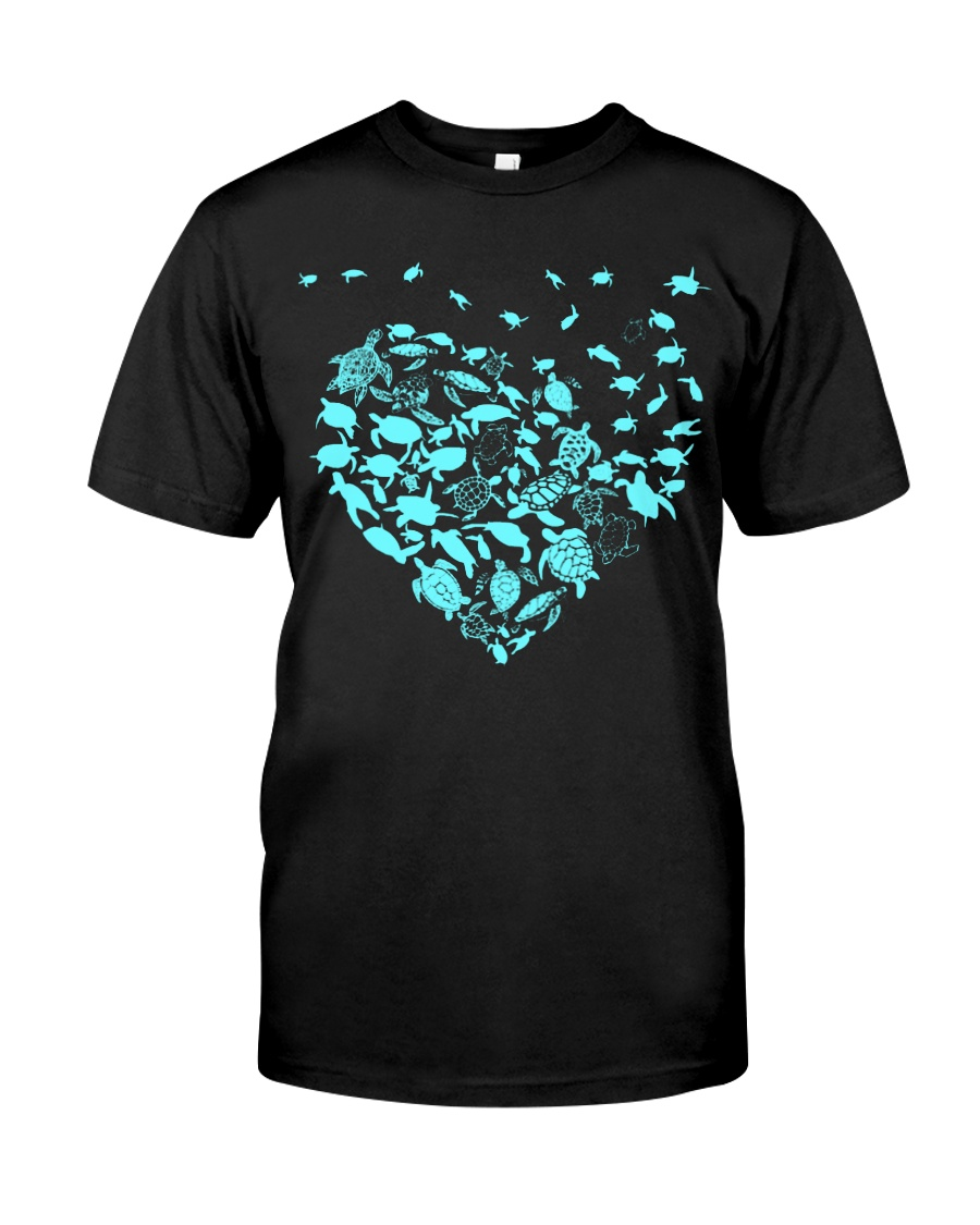 Turtle hearts  Classic T-Shirt
