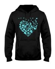 Turtle hearts  Hooded Sweatshirt thumbnail