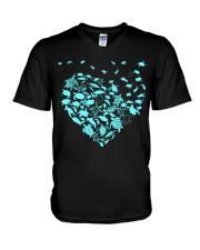 Turtle hearts  V-Neck T-Shirt thumbnail