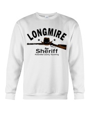 Longmire for sheriff absaroka county wyoming shirt Crewneck Sweatshirt thumbnail
