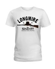 Longmire for sheriff absaroka county wyoming shirt Ladies T-Shirt thumbnail