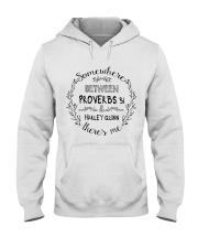 Somewhere between proverbs 31 Harley Quinn shirt Hooded Sweatshirt thumbnail