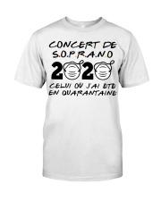 Concert de S o p r a n o Classic T-Shirt front