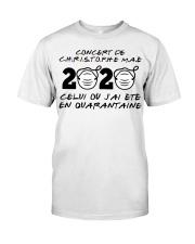 Concert de Christophe M a é Classic T-Shirt front