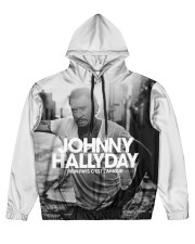 Mon pays Men's All Over Print Hoodie thumbnail