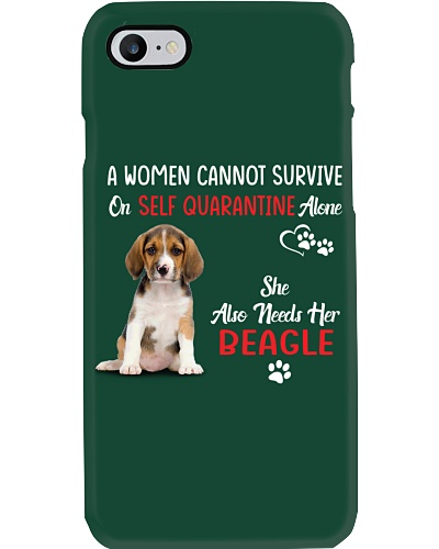 A WOMWN CANNOT SURVIVE SHE ALSO NEEDS HER BEAGLE