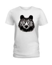 Papa Bear Ladies T-Shirt front