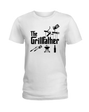 The Grillfather Ladies T-Shirt front