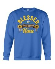Blessed To Be Called Nina Crewneck Sweatshirt tile