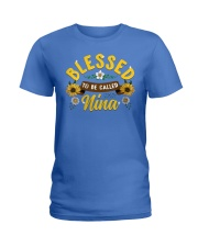 Blessed To Be Called Nina Ladies T-Shirt front