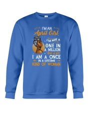 I'm An April Girl Crewneck Sweatshirt thumbnail