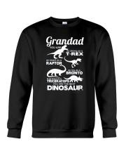 Grandad Dinosaur Crewneck Sweatshirt tile