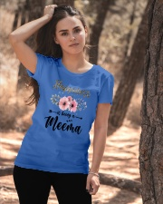 Happiness Is Being A Meema Ladies T-Shirt apparel-ladies-t-shirt-lifestyle-06