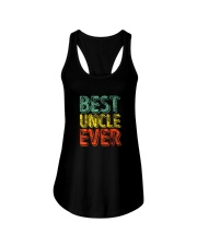 Best Uncle Ever Ladies Flowy Tank tile