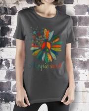 Hippie Soul Sunflower Premium Fit Ladies Tee apparel-premium-fit-ladies-tee-lifestyle-30