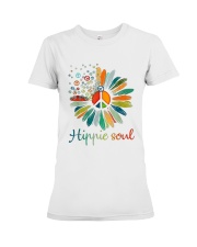 Hippie Soul Sunflower Premium Fit Ladies Tee tile