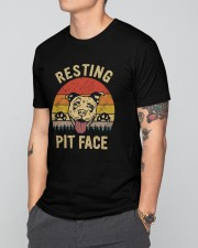 Resting Pit Face Classic T-Shirt apparel-classic-tshirt-lifestyle-front-166