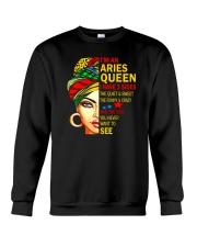 I'm An Aries Queen Crewneck Sweatshirt tile