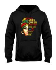 I'm An Aries Queen Hooded Sweatshirt front