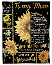 "Mother's Day Gift 2020 - To my Mom Small Fleece Blanket - 30"" x 40"" front"