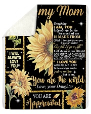 "Mother's Day Gift 2020 - To my Mom Sherpa Fleece Blanket - 50"" x 60"" thumbnail"