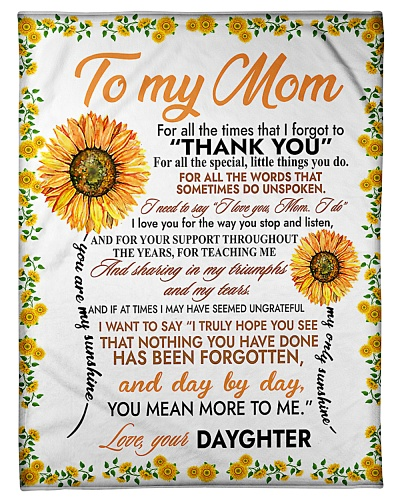 Mother's Day Gift 2020 - To My Mom