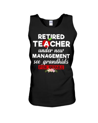 Teacher retired