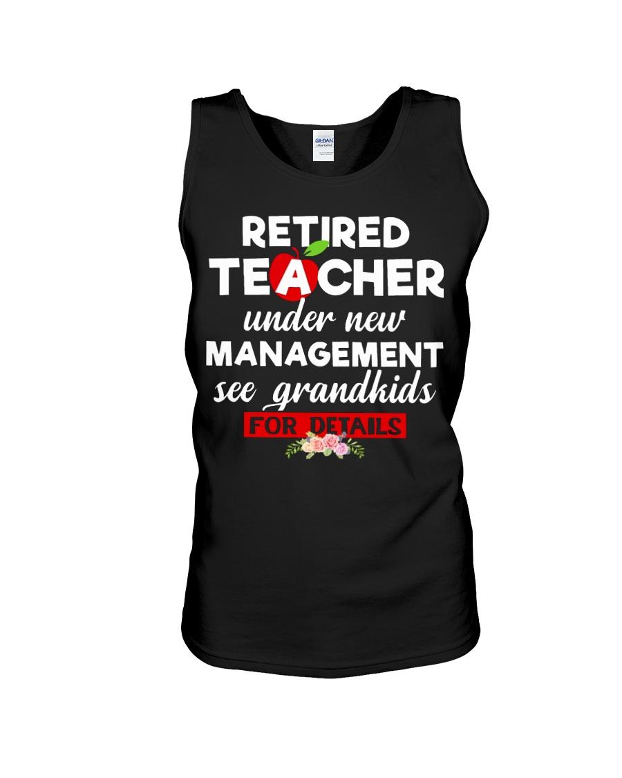 Teacher retired Unisex Tank