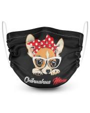 chihuahua 2 Layer Face Mask - Single thumbnail