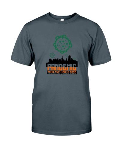 pandemic tour the world shirt