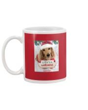 Lancelot the Chivalrous Dachshund Christmas Mug Mug back