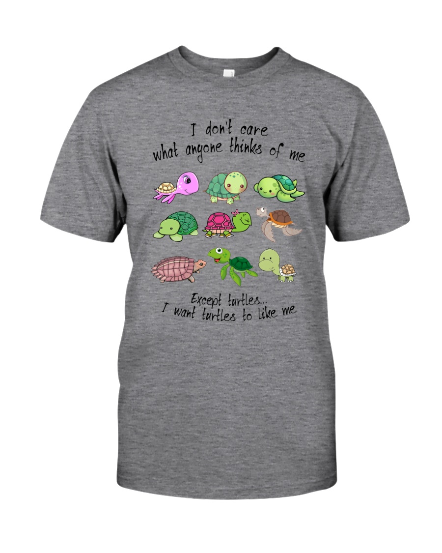 I WANT TURTLES TO LIKE ME Classic T-Shirt