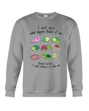 I WANT TURTLES TO LIKE ME Crewneck Sweatshirt thumbnail