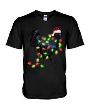 CHICKEN LIGHT TREE V-Neck T-Shirt thumbnail