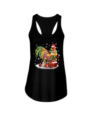 CHRISTMAS BULB CHICKEN Ladies Flowy Tank thumbnail