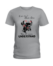 IF YOU DON'T HAVE ONE BOXER Ladies T-Shirt thumbnail