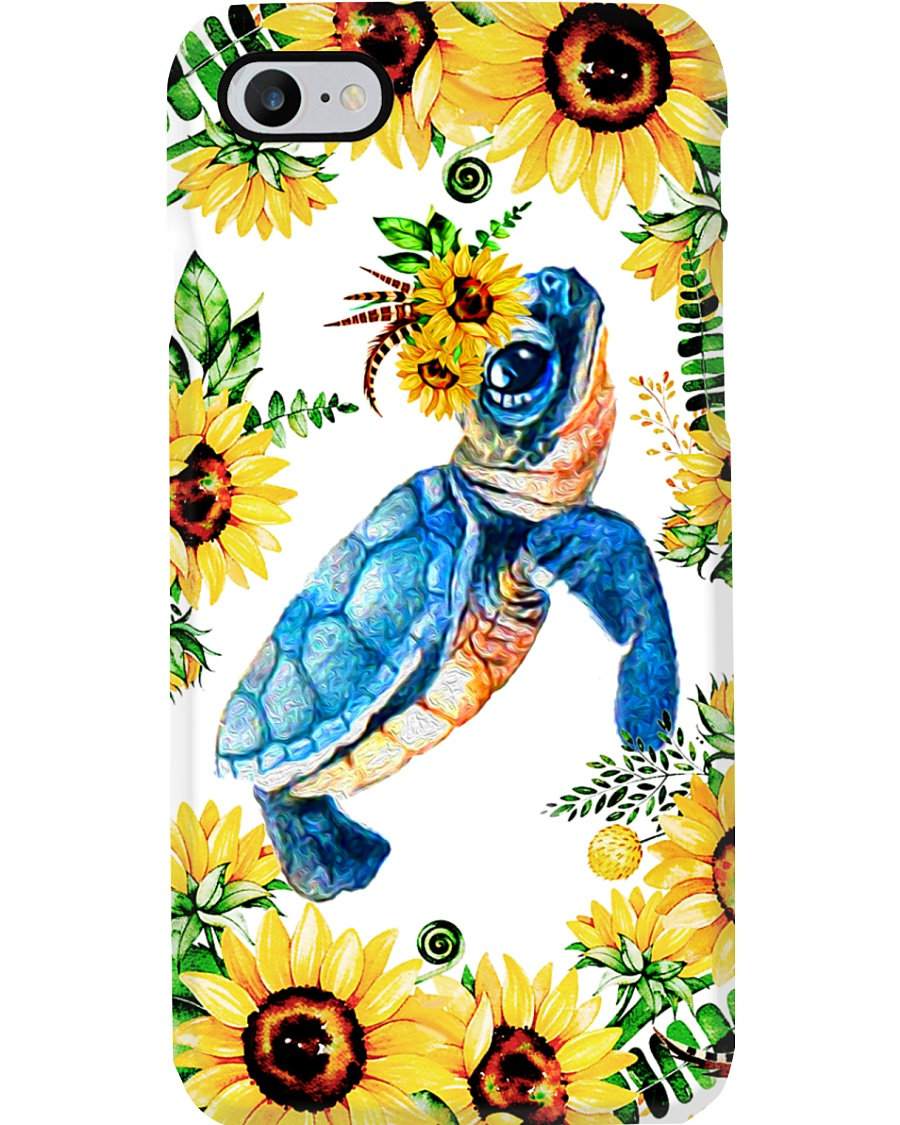 FLOWER TURTLE Phone Case