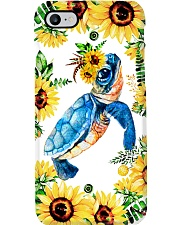 FLOWER TURTLE Phone Case i-phone-7-case