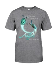 I BELIEVE TURTLES ARE ANGELS AMONG US Classic T-Shirt thumbnail