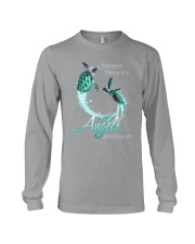 I BELIEVE TURTLES ARE ANGELS AMONG US Long Sleeve Tee thumbnail