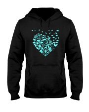 TURTLE HEARTS Hooded Sweatshirt front