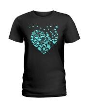 TURTLE HEARTS Ladies T-Shirt thumbnail
