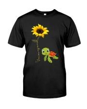 YOU ARE MY SUNSHINE - TURTLE Classic T-Shirt thumbnail